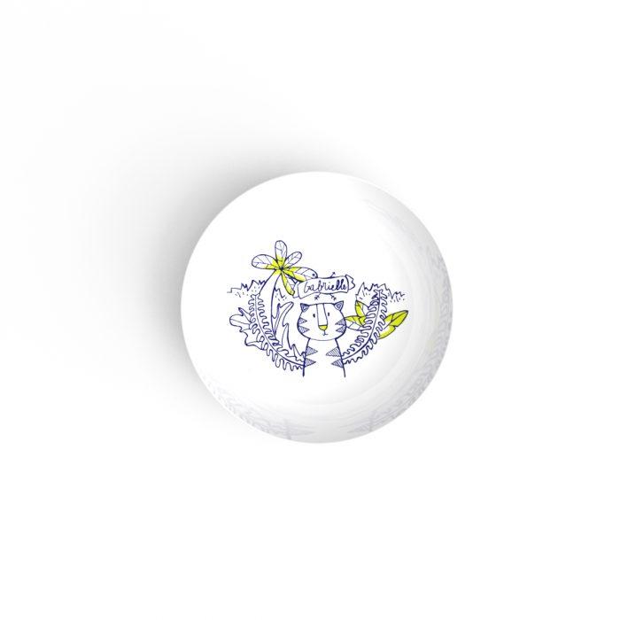 assiette creuse en porcelaine de limoges à table art de la table